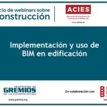 """Webinar """"Implementació i  ús del BIM en l'edificació"""""""