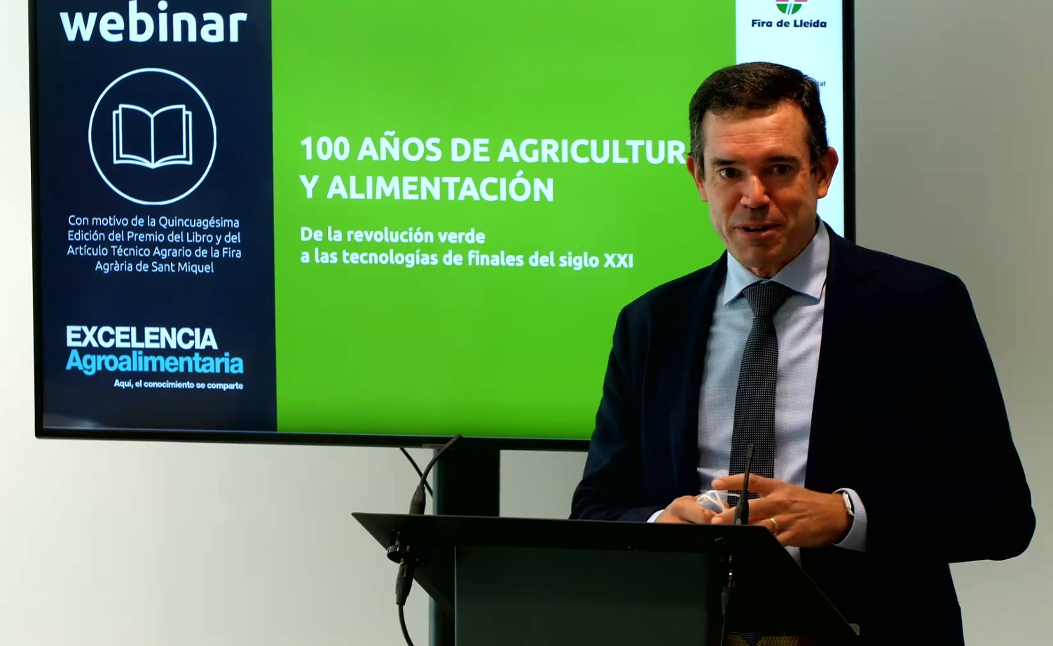 El Col·legi d'Enginyers Agrònoms participa en jornada:100 anys d'Agricultura i Alimentació