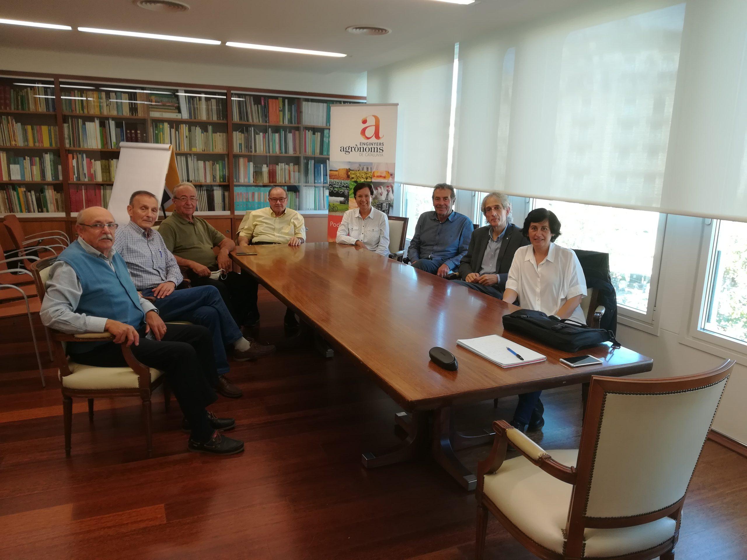 La Comissió d'Agrosèniors es reuneix amb el Secretari d'Agenda Rural del DACC, Oriol Anson